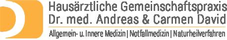 Hausärztliche Gemeinschaftspraxis Dr. med. A. & C. David Logo